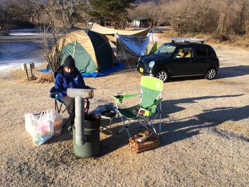 私達の6回目くらいのキャンプの写真