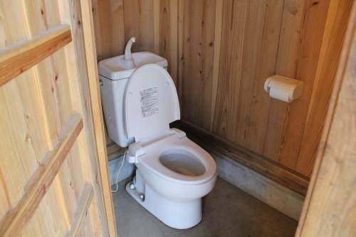 トイレは凄く綺麗でした。