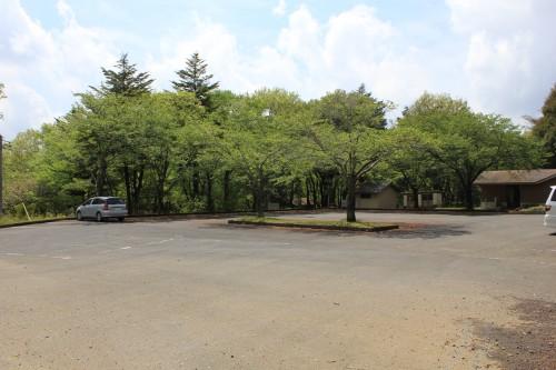 キャンプサイトに一番近い駐車場