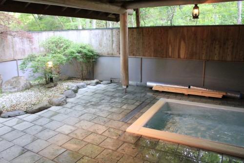 貸切の露天風呂