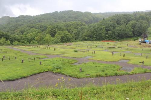 山形県 月山あさひサンチュアパークオートキャンプ場 6月30日