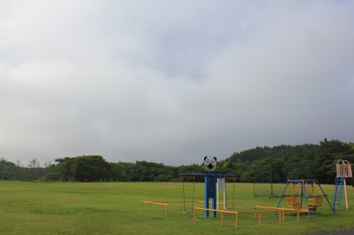 松島町野外活動センターキャンプ場の子供の遊べる広場の写真