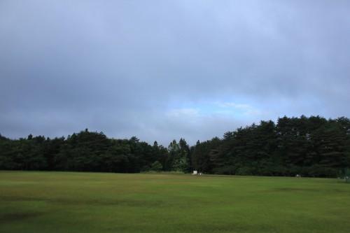 松島町野外活動センターキャンプ場の広場の写真