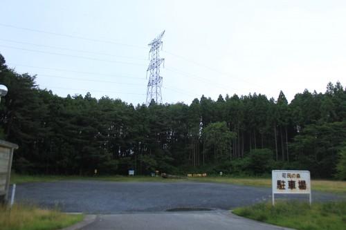 松島町野外活動センターキャンプ場のキャンプ場利用者専用駐車場の写真