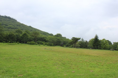 岩手県 望洋平キャンプ場 2014年7月4日