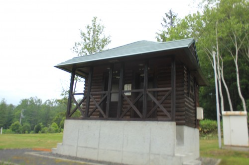 リンリン公園キャンプ場のトイレ