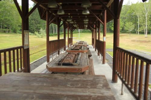 リンリン公園キャンプ場のBBQ施設の写真