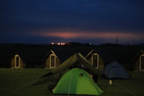 インナーマットの新しい使い方?!僕らのテントの中をさらしてみる。
