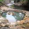 北海道 然別峡野営場<無料温泉 鹿の湯があるキャンプ場>