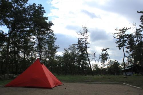 新潟県 海辺の森キャンプ場 2014年9月18日〜19日