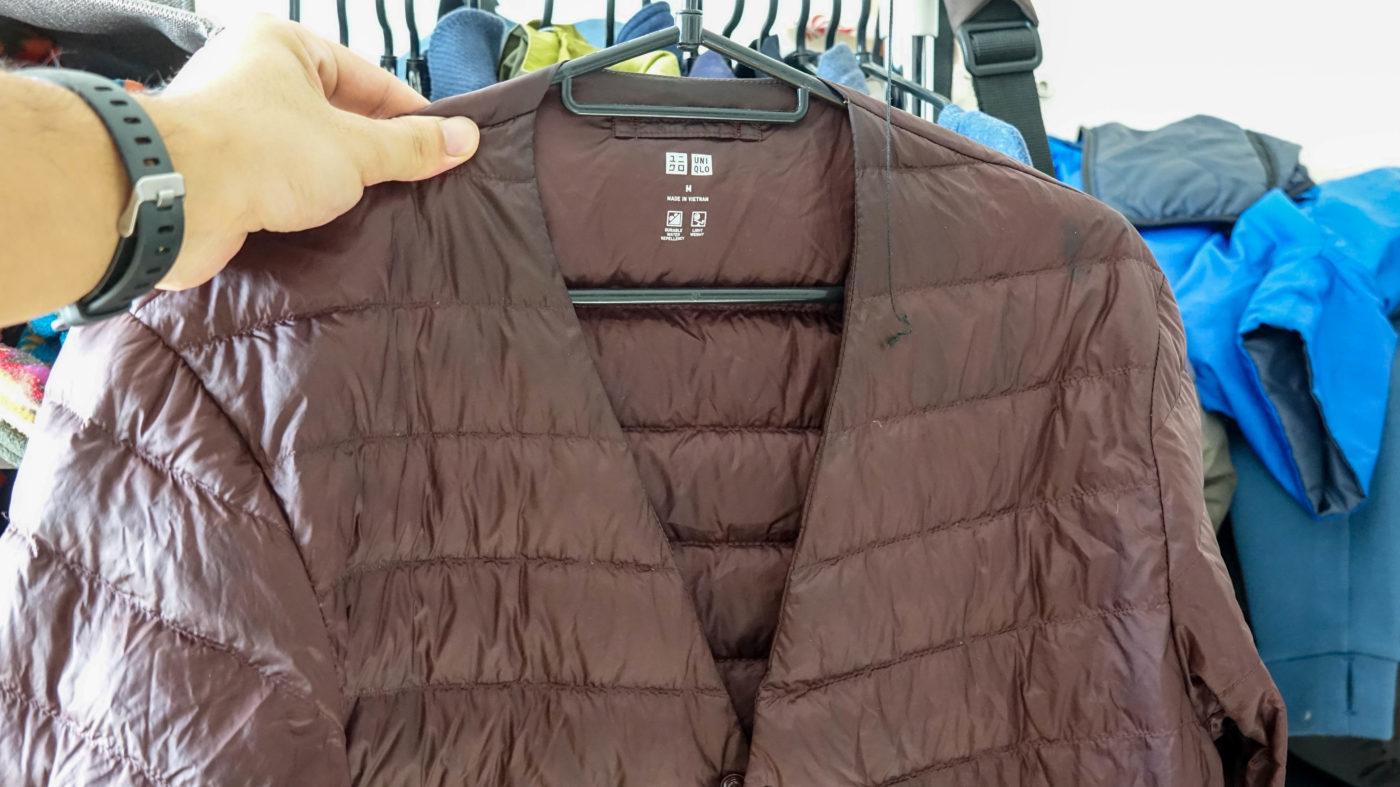 ウルトラライトダウンジャケットよりも秋冬キャンプにピッタリの服はないよ