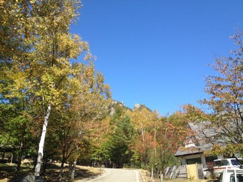 長野県 廻り目平キャンプ場 2014年10月7日〜8日