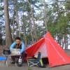 富山県 園家山キャンプ場 2014年10月14日〜15日