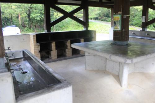 高岡二上山キャンプ場の炊事場の画像