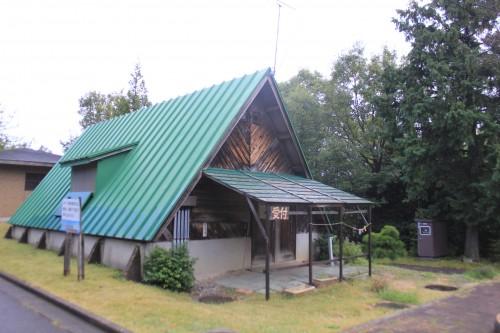 高岡二上山キャンプ場の受付の画像