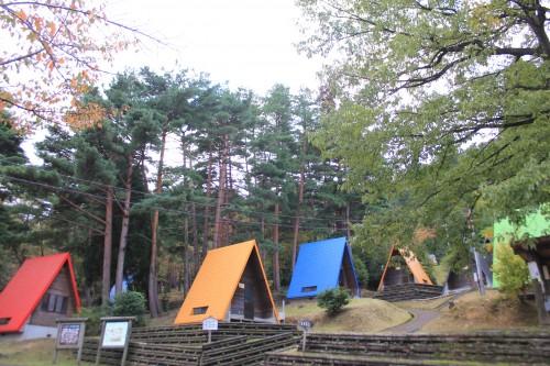 福井県 野坂いこいの森 2014年10月22日〜23日