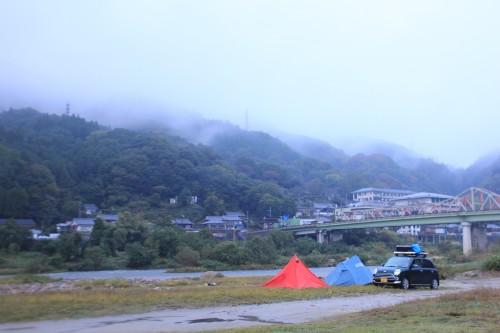 京都府 笠置キャンプ場 2014年10月26日〜27日