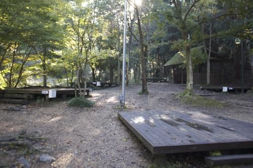 京都府 山城町森林公園キャンプ場 2014年10月27日~28日