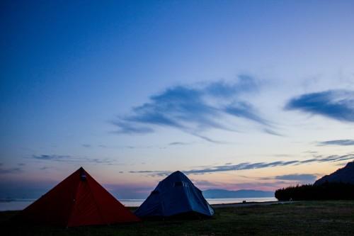 兵庫県 丸山キャンプ場 2014年10月30日〜31日