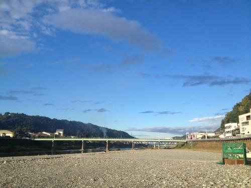 奈良県 吉野川河川敷(DAYキャンプ場) 2014年11月6日