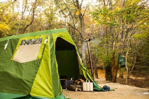 小川キャンパルのミネルヴァは秋冬キャプに似合う最高のテント。