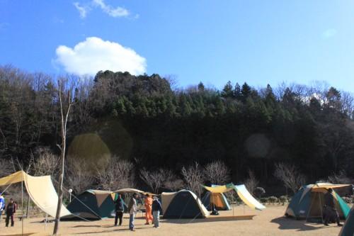 福島県 いわき市遠野オートキャンプ場 2014年12月14日