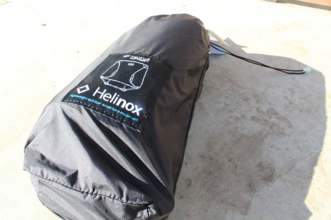 Helinox(ヘリノックス)グラウンドチェア収納時