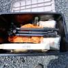 キャンプ道具の収納ボックスはこれ!事故でも壊れなかったアイリスのRV-BOX!!