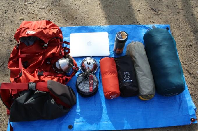 【キャンプの雑談】キャンプ道具はULで揃えていくと小は大を兼ねる可能性