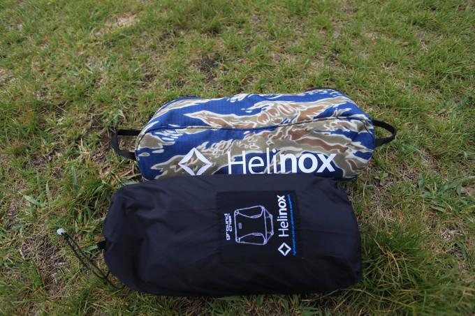 ヘリノックスは携行性が高くソロキャンプにおすすめ