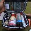 キャンプ用の調味料収納ケースはこれ!ピクニックっぽいその見た目に惚れました!
