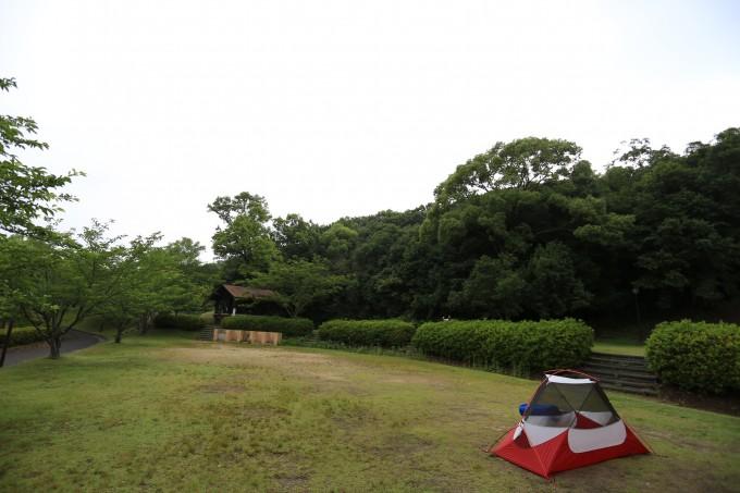 香川県 橘ノ丘総合運動公園キャンプ場 2015年6月9日〜10日