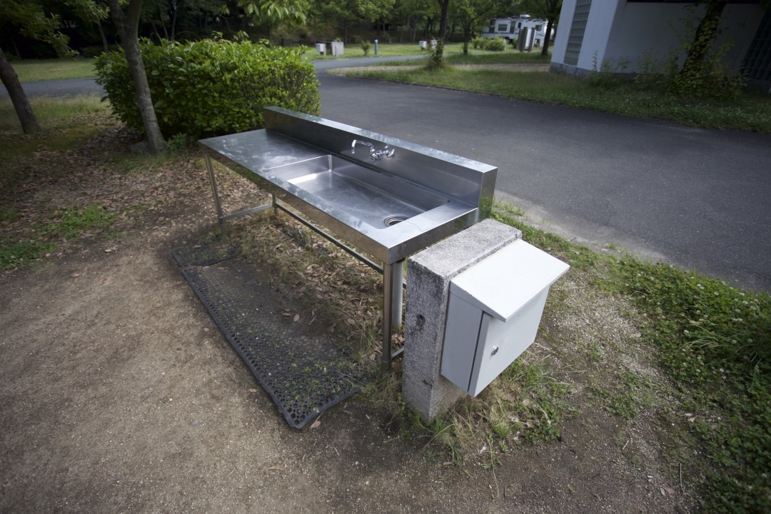 国営讃岐まんのう公園オートキャンプ場のおすすめポイントはサイトついている水道