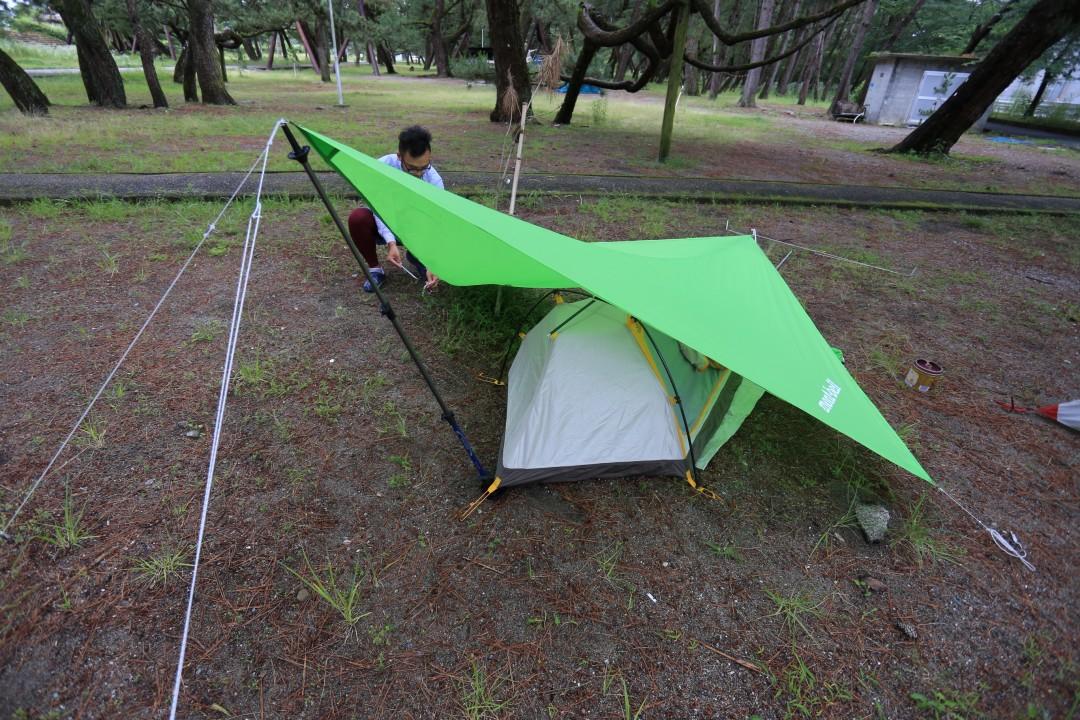 高知県 種崎千松公園キャンプ場 2015年6月18日〜19日