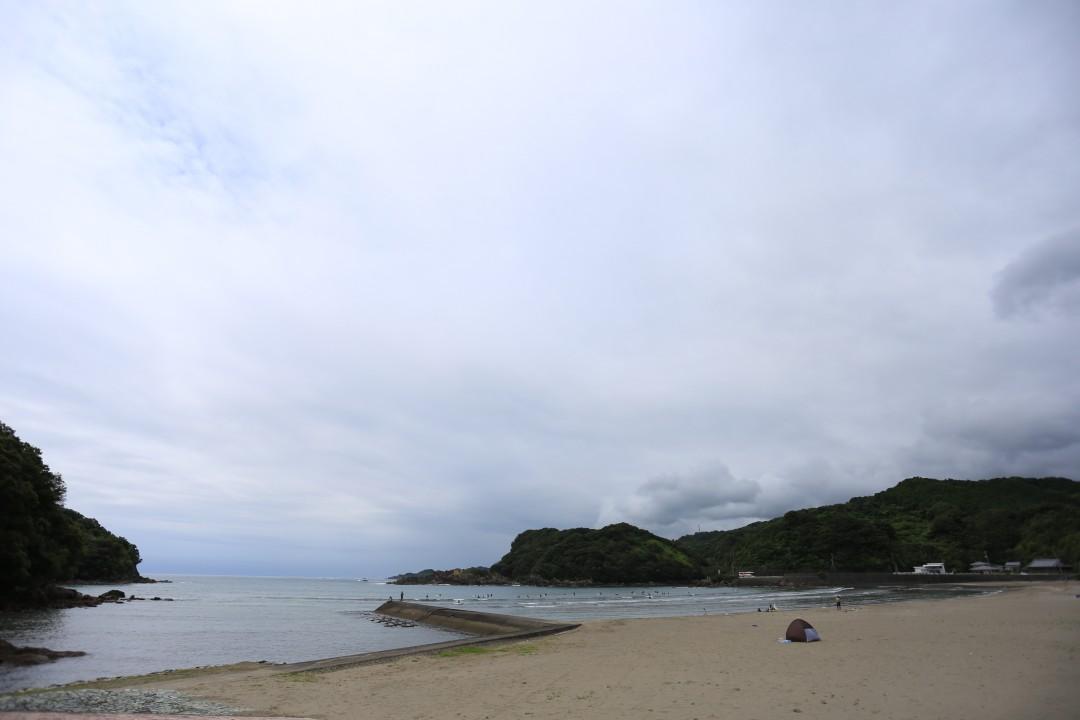 高知県 東洋町白浜キャンプ場 2015年6月20日