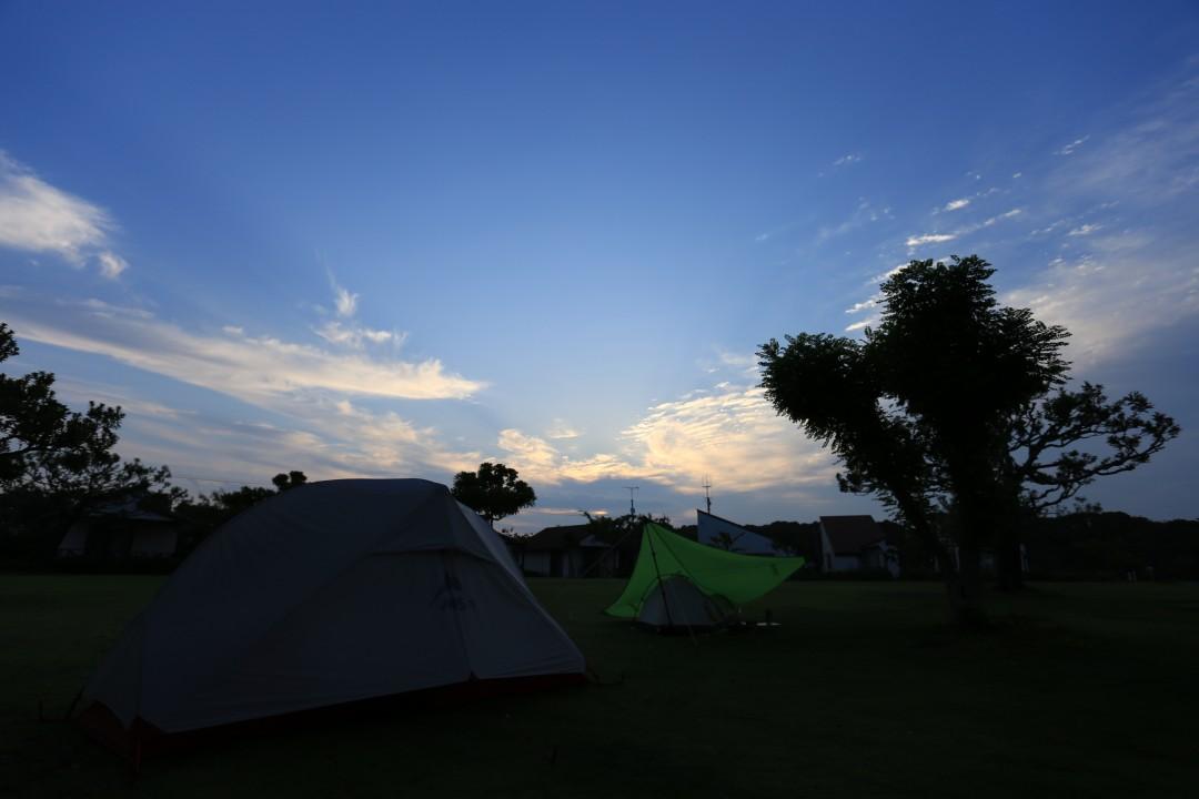 静岡県 竜洋海洋公園オートキャンプ場 2015年6月23日〜24日