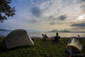 【洞爺湖で一番おすすめ】北海道 仲洞爺キャンプ場 2015年8月3~4日