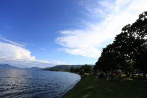 【安くて綺麗な芝生】北海道 2015年8月2~3日 とうや小公園
