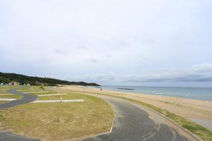 【海が目の前に!】島根県 石見海浜公園キャンプ場 2015年8月31日〜9月1日