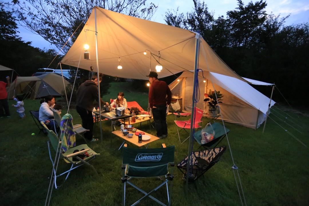 キャンプは準備に時間がかかる