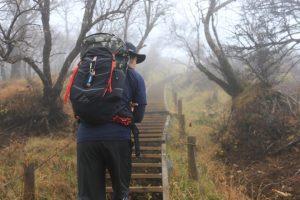 【塔ノ岳登りました】日帰りで日本百名山の丹沢を目指すも悪天候により・・・断念。
