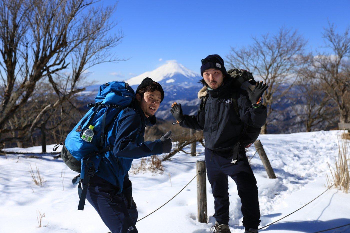 ガッツと冬山