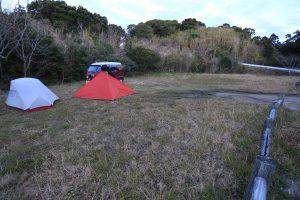 【無料キャンプ場】宮崎県 猪崎鼻キャンプ場 2016年2月7~8日