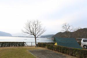 【海が目の前に】三重県 孫太郎オートキャンプ場 2016年2月28〜29日
