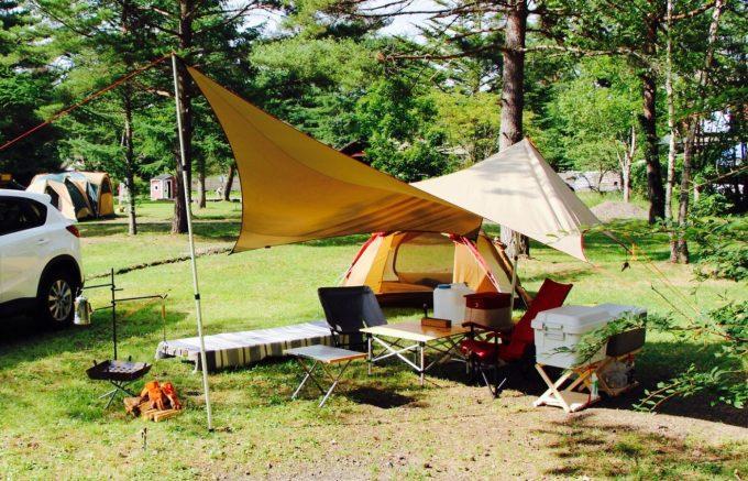 キャンプのテーブルは自分のキャンプスタイルに合わせて、サイトのイメージをして購入するとよい