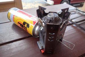 ついに壊れてしまった・・・ユニフレームのミニバーナーUS-700は使用回数500回以上