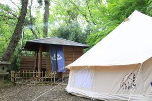 【実際に入ってみた】千葉県の人気キャンプ場「有野実苑」の風呂付きサイトは最高。