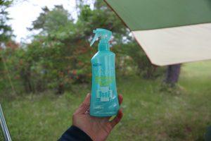 【キャンプの虫よけスプレー】フマキラーのスキンベープミストが蚊、ブヨになかなかいい感じです!