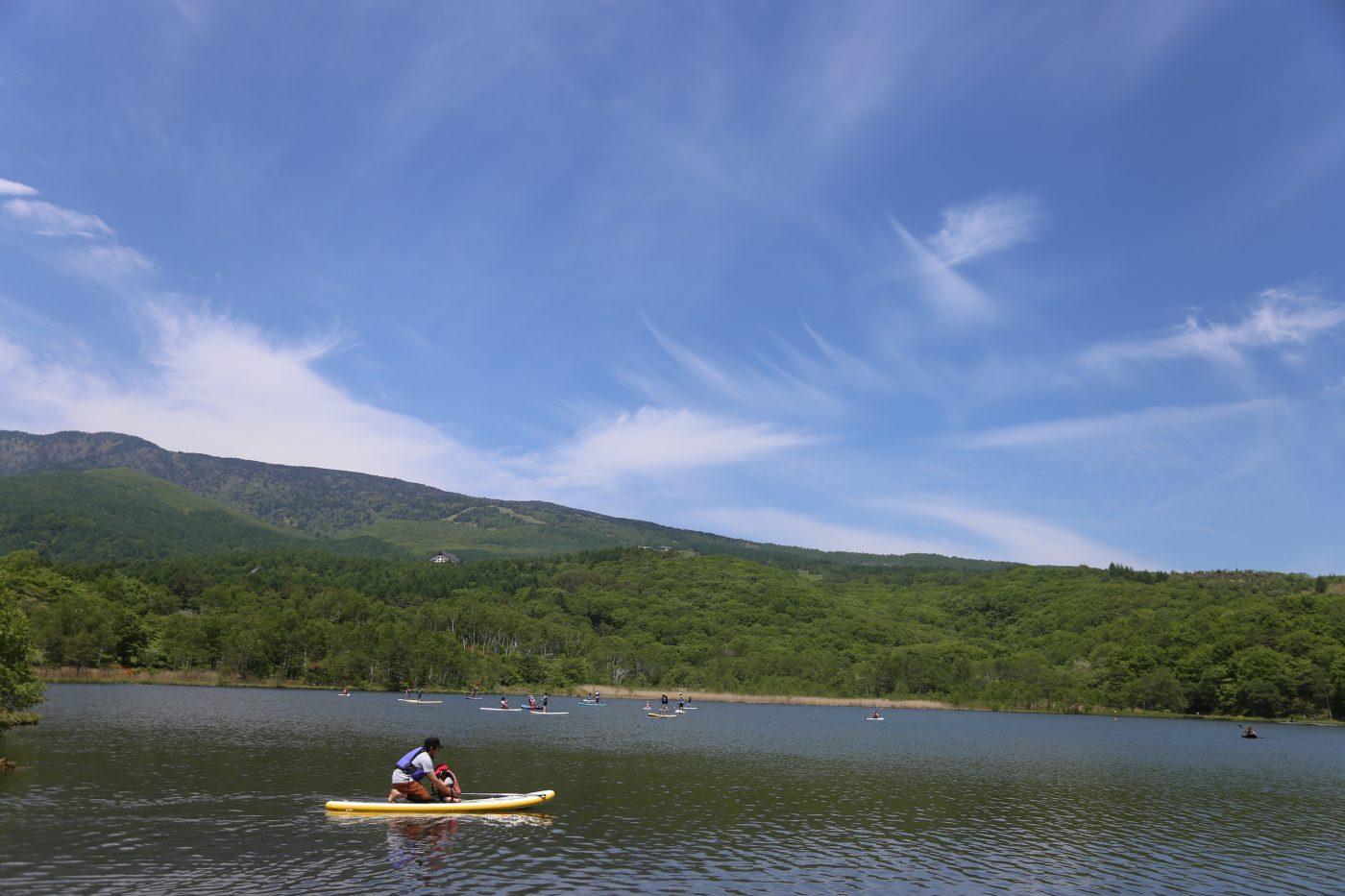 目前のバラギ湖でのアクティビティも可能です。