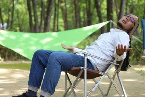 【レビュー】オートキャンプでゆったり座りたいならキャンパルジャパンのハイバックチェア